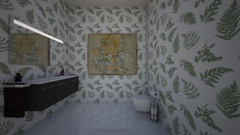 twilight bathroom - Bathroom  - by Daphnizs