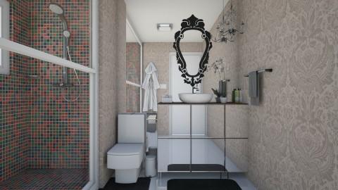 banheiro - Modern - Bathroom  - by aletamahi
