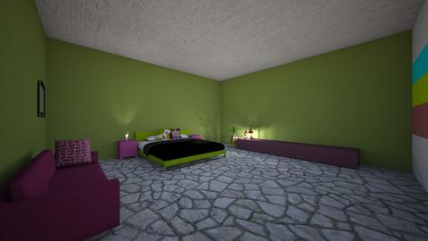 Sage Bedroom - Bedroom  - by PAPIdesigns