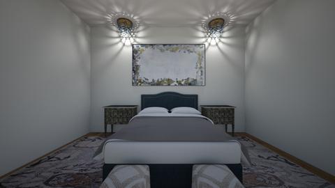 blue designer - Bedroom  - by darienjb27