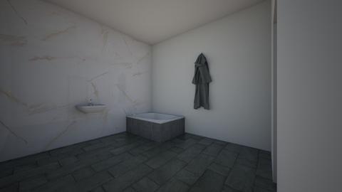 yoni bathroom 1 - Bathroom - by Antoanetta5