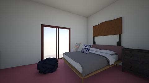 bedroom1 - Eclectic - Bedroom  - by kitchen113