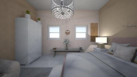 Interior Design Project  - Bedroom  - by Kacurran