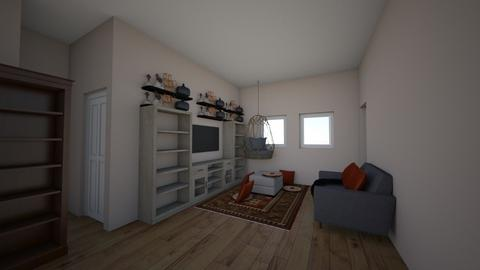 1 bed_living kitchen - Living room  - by samsmurkle