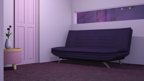 Purple 6 - Living room  - by designkitty31