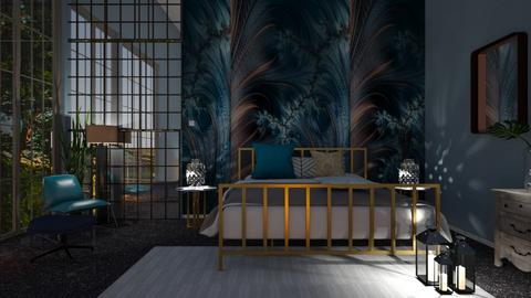 Blue - Bedroom - by Sue Bonstra