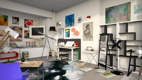 Art Studio - Modern - Office - by XiraFizade