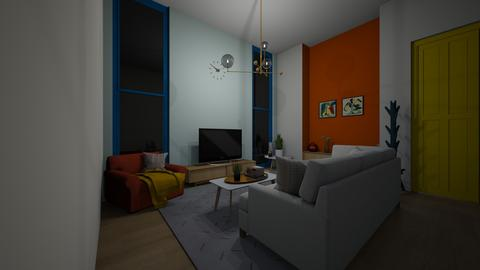 colorful living room - Living room  - by joetee