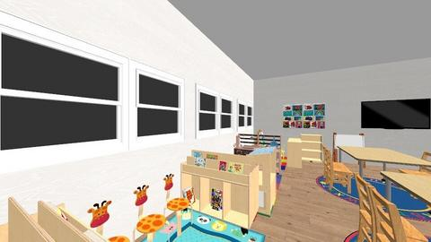 4054M classroom design - Kids room  - by KIKI CCheng