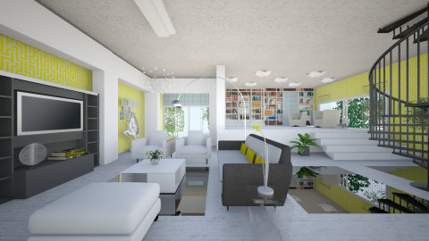 VaniL - Eclectic - Living room  - by Saj Trinaest