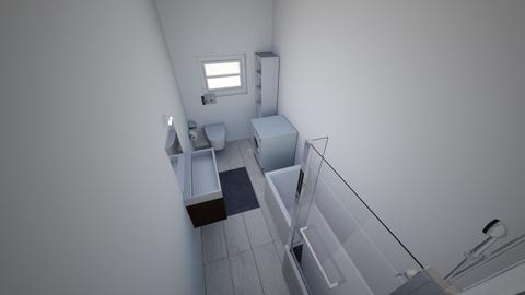 My_Flat - Bathroom  - by ahmed aboelnas