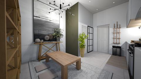 SKT Apartment Dining Room - Minimal - Dining room  - by lukecepheidv