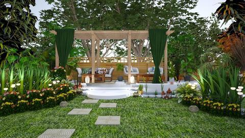 Green Backyard Contest - by Feeny