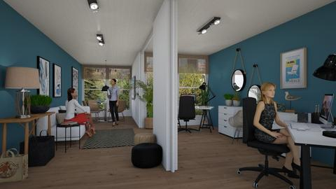 Container office - Office  - by Tuija