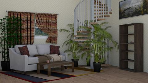 Country style living room - Country - Living room  - by DerpyMoggins