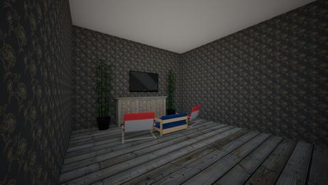 roomy living room - Living room  - by Designer Dog