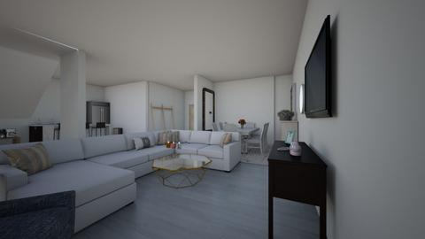 OpenFloorplan Livingarea  - Modern - Living room  - by 108Riley