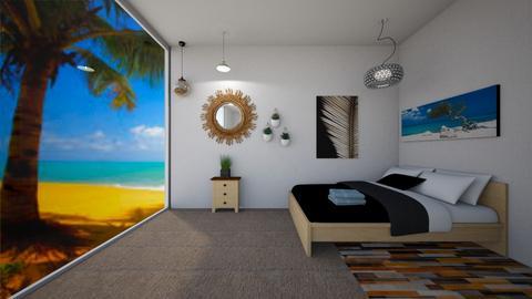 Bedroom - Modern - Bedroom  - by Amelia i Szymon