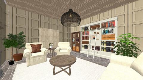 Rustic living room - Living room  - by Viktoria 232004