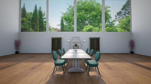 Elegant Dining Room - Dining room  - by BaylorBear