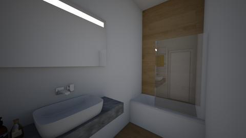 salle de bain 2 - Bathroom - by rafaelavitorino93