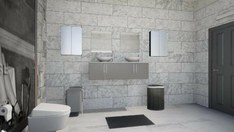 bathroom 1 - Modern - Bathroom - by sarabentsayedmasr