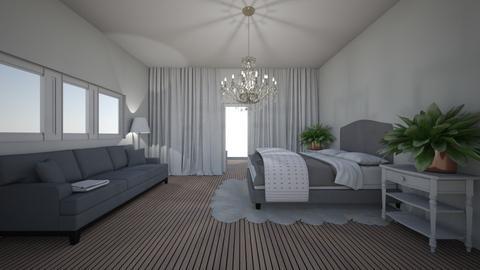 modern bedroom - Bedroom  - by Juliafueglein