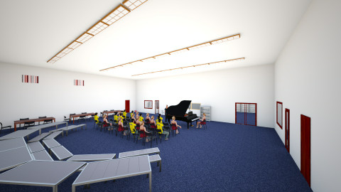 Band Room - Eclectic - by rdirlam