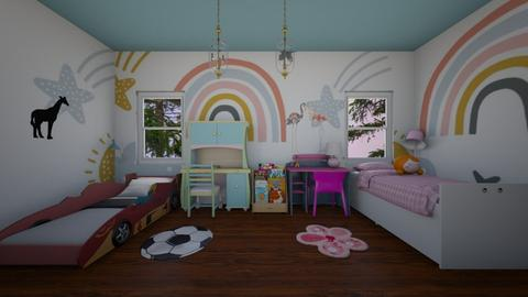 Kids Room - Kids room  - by nkanyezi