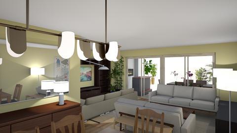 MBJ recepcionA vista1 - Living room  - by bpgarqs