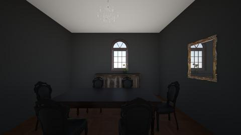 first room draft - Vintage - Dining room  - by miills