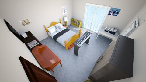 attempt numero uno - Minimal - Bedroom  - by Kaitlin Drew Casto