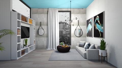 Salon de dia tormentoso - Modern - Living room  - by norkis