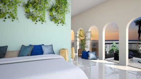 Beach bedroom - by Meghan White