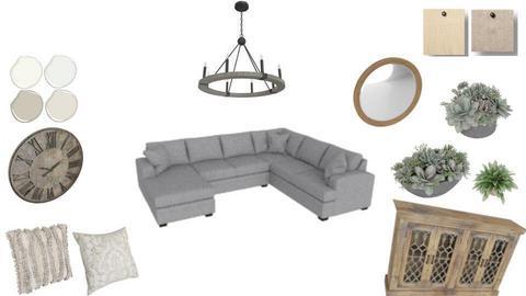 1 living room farmhouse - by Manriluc