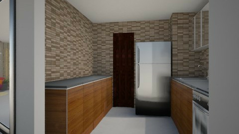One Central Makati 3_2_1 - Modern - Kitchen - by mypassion