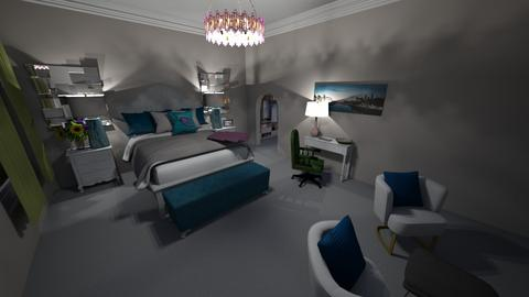 Luxurious Bedroom - Glamour - Bedroom  - by Khayla Simpson