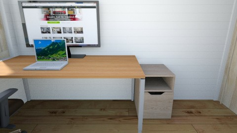 Home Office - Minimal - Office  - by exlnt