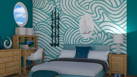 Beach room - Eclectic - Bedroom  - by sophiefleah