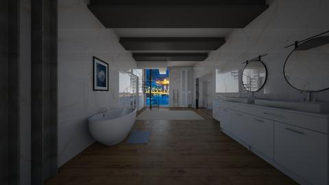 White - Bathroom  - by michaelneilldesigns