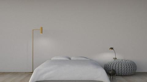 Simple change - Minimal - Bedroom  - by elodiee