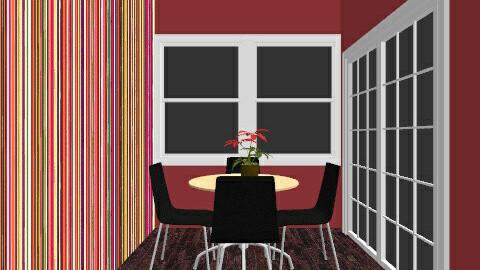 Stripe kitchen - Retro - Kitchen  - by AshleyRowland01