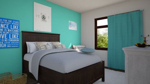 My new room - Eclectic - Bedroom  - by love Tully love