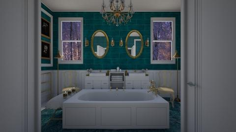 T and M bath - Modern - Bathroom - by kristenaK