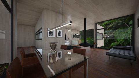 modern  - Living room - by Francescapezone19