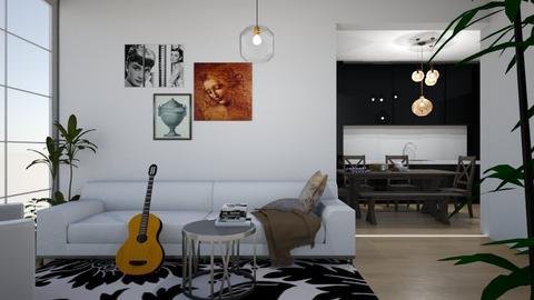 autumn - Living room  - by Gouri Renjith