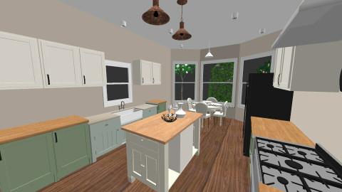 Kitchen - Country - Kitchen  - by missptheorange
