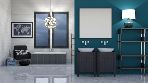 Island Hurricane Bathroom - Bathroom  - by BubbleSloth