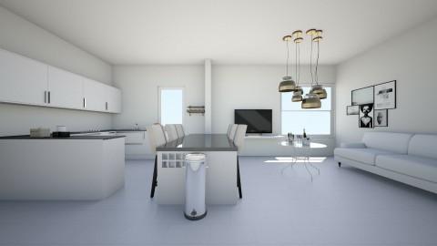 living room kitchen  - Living room - by kiwi_gymnast11