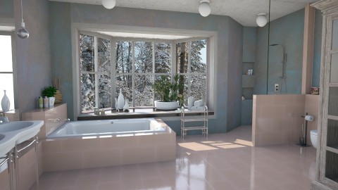 Snow Hues - Global - Bathroom  - by evahassing